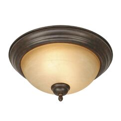 Foxburg 2-Lights Flush Mount