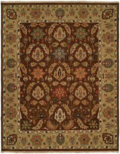 Acapulco Hand-Woven Brown/Camel Area Rug Rug Size: Rectangle 4' x 8'