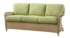 Sofa with Cushion Fabric: Flagship Vellum
