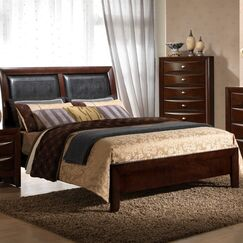 Antwerp Bed Size: Twin, Color: Merlot