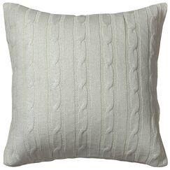 Dalal  Pillow Cover Color: Cream/Silver