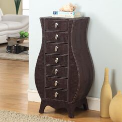Cesay Jewelry Armoire with Mirror