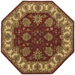 Traditions Agra Saffron Rug Rug Size: Rectangle 5' x 8'