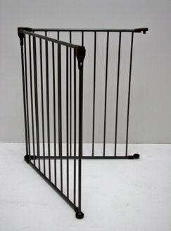2 Panel Extension Convertible Pet Yard and Gate