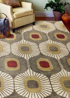 Chelsea Tufted Wool Mocha Area Rug Rug Size: Rectangle 8'6