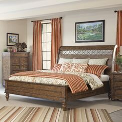 Peatman Sleigh Bed Size: King