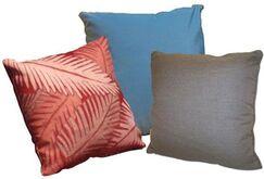 Throw Pillow Color: Mushroom, Size: 18