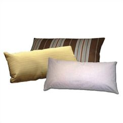 Lumbar Pillow Color: Red 1A