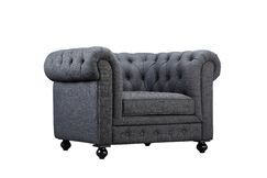 Dolores Armchair Upholstery: Grey