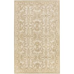 Smithsonian Hand-Tufted Brown/Neutral Area Rug Rug Size: Rectangle 8' x 11'