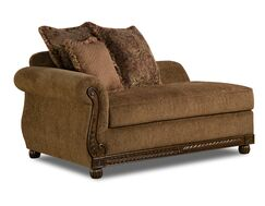 Bridgette Chaise Lounge by Simmons Upholstery Upholstery: Chocolate