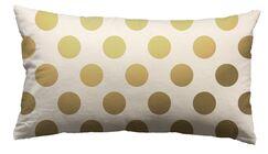 Urban Loft Foil Large Dots Throw Pillow