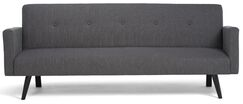 Morgan Convertible Sofa Upholstery: Graphite Gray