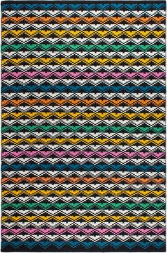 Estate Hand-Woven Area Rug Rug Size: 5' x 8'