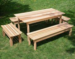 Cedar Family Dining Set Size: 32