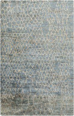 Bjorn Beige/Teal Area Rug Rug Size: Rectangle 2' x 3'