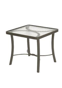 Aluminum Bar Table Finish: Mocha