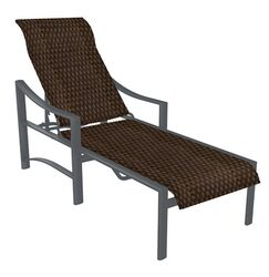 Kenzo Reclining Chaise Lounge Finish: Graphite