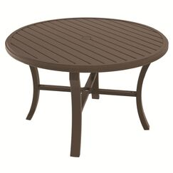 Banchetto Aluminum Dining Table Frame Color: Greco, Size: 54