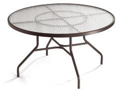 Aluminum Dining Table Finish: Parchment