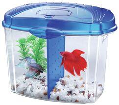 0.5 Gallon Betta Bowl Desktop Aquarium Kit