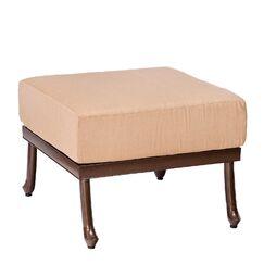 Casa Ottoman with Cushion Fabric: Paris Honeydew
