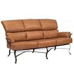 Atlas Sofa with Cushions Fabric: Bazaar Cafe