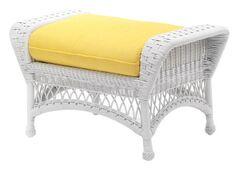 Sommerwind Ottoman Cushion Color: Mojito Wintergreen