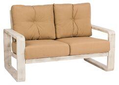 Vale Loveseat Cushion Color: No Cushion