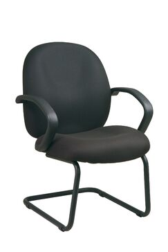 Conference Guest Chair Fabric: Interlink - Laguna