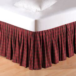 Gibson Plaid Dust Ruffle Bed Skirt Size: Twin