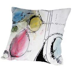 Motus 7 Throw Pillow Size: 18