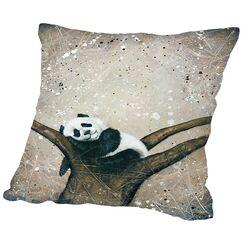 Naptime Throw Pillow Size: 20