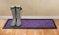 Conway Fall Day Boot Tray Color: Purple