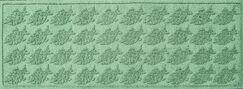 Aqua Shield Tropical Fish Doormat Color: Light Green, Mat Size: Rectangle 2' x 3'