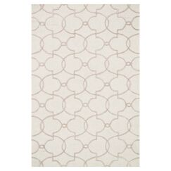 Kirkbride Ivory Area Rug Rug Size: Rectangle 7'6