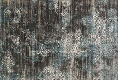 Abella Charcoal Area Rug Rug Size: Rectangle 6'7