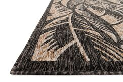 Summerfield Charcoal/Sand Indoor/Outdoor Area Rug Rug Size: Rectangle 9'2