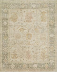 Abelard Hand-Knotted Wool Stone/Storm Area Rug Rug Size: Rectangle 2' x 3'