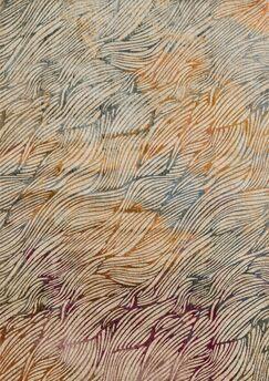 Dangelo Orange/Gray Area Rug Rug Size: Rectangle 5' x 7'6