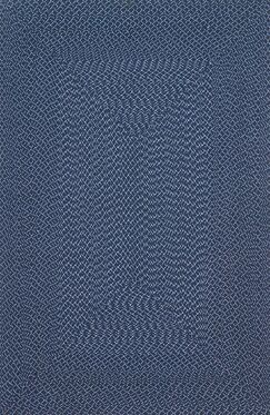 Daniell Hand-Woven Navy Indoor/Outdoor Area Rug Rug Size: Rectangle 9'3