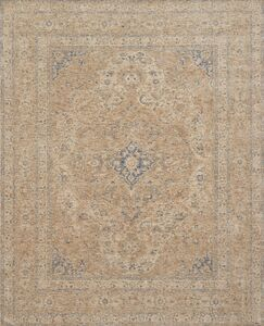 Dietrick Hand-Hooked Beige Area Rug Rug Size: Rectangle 2' x 3'4