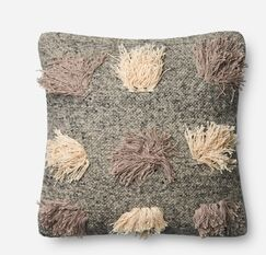 Canas Cotton Throw Pillow Fill Material: Down/Feather, Type: Pillow