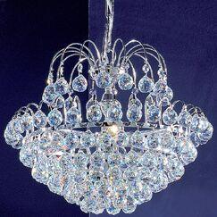 Diamante 5-Light Chandelier Crystal Type: Crystalique Plus