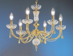 Weatherford Rope 6-Light Chandelier Finish: 24K Gold Plate