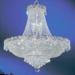 Regency II 11-Light Chandelier Finish: 24k Gold Plate, Crystal Type: Swarovski Elements Golden Teak