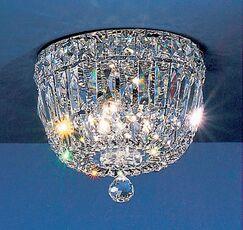 Empress Light Semi-Flush Mount Crystal Type: Swarovski Spectra, Size: 8
