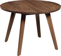 Catalina Side Table Color: Natural Walnut, Size: 16.75