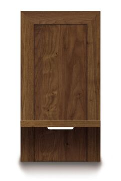 Moduluxe Nightstand Color: Natural Walnut