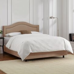 Limoges Upholstered Panel Bed Size: Twin